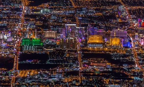 Las Vegas - luchtfotografie